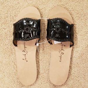 NWT black jack Rodger sandals
